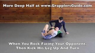 Deep Half Guard – Hidden Arm Position And Double Under Sweep – Jason Scully