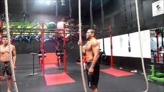 Andre Galvao Training for Worlds Jiu Jitsu 2013