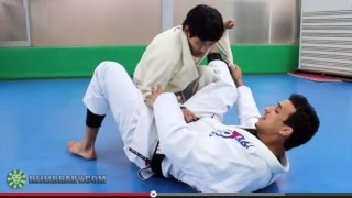 Spider Guard Scissor Sweep to Triangle with Romulo Barral