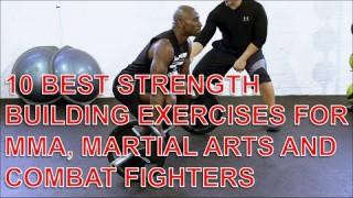 10 Best Strength Building Exercises For BJJ