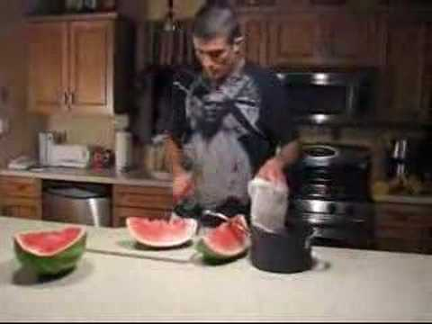 Gracie Diet – Gorilla Watermelon Juicing Technique