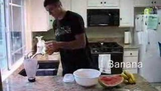 Gracie Watermelon Smoothie Video