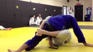 Leandro Lo rolling with Ben Baxter