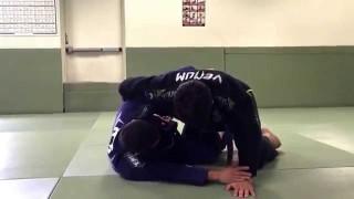 Old school Sweep & Triangle from Half Guard- Renato Migliaccio