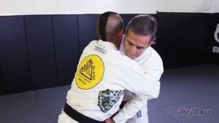 Pedro Sauer, Front Bear Hug Over Arms Counter Self Defense