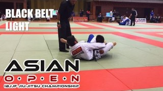 "Roberto ""Satoshi"" Souza vs. Tatsuya Kaneko- 2014 Asian Open, Black Belt Lightweight Final"