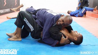 Terere rolling with brown belt (Sept 2014) || In the Gym with BJJ Hacks