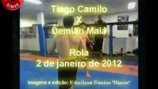 Demian Maia Rolling with Judo World Champ Thiago Camilo