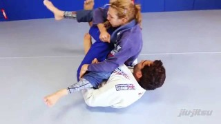 Knee Shield To X-Guard Sweep- Lucas Leite