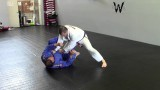 Passing the Reverse De La Riva Guard by quickly switching your hips