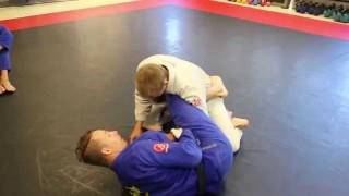 Attacks from knee shield halfguard