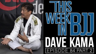 Headlock Escape-  Rickson Gracie black belt, Dave Kama