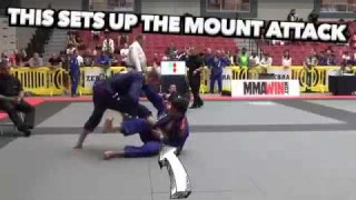 Armbar from the Worm Guard