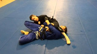 Spider web to grip break to ankle lock