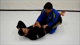 Closed guard sweep to mount to the back