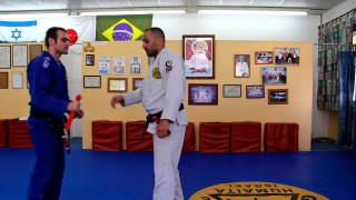 Gracie Jiu Jitsu Knife Defense – Upper Attack Breakdown