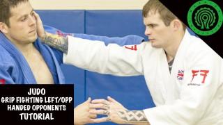 Judo Grip Fighting against left/opposite handed opponents Tutorial