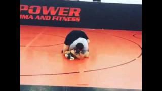 Ryan Bader Drilling Dirty Wrestling Scrambles
