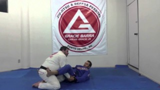 Double under pass + Submission