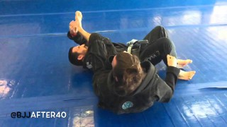 Inversion to arm bar