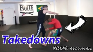 Street Fighting Takedowns