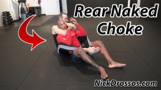 Escaping Rear Naked Choke
