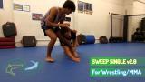 Sweep Single Takedown