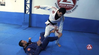 Toe Hold From Top Open Guard