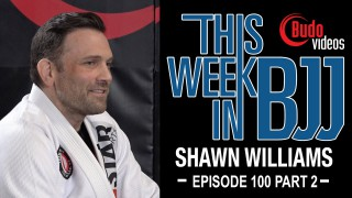 Budo Jake – Episode 100 with Shawn Williams Part 2 of 2 Sweep Single to Knee Slide