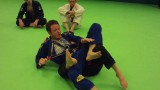 Defending the back take and transitioning to one legged-X guard