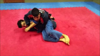 X Guard Sweeps To Guard Pass And Back Take