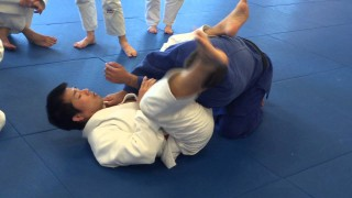 Armbar From Closed Guard – Sensei Koji Komura