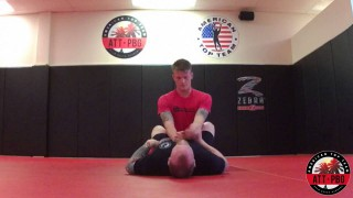 Basic Armbar From Guard With Fine Adjustments