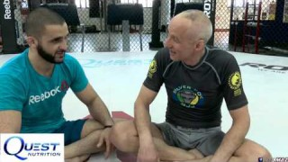 Escape Knee on Belly with Silver Fox – Firas Zahabi