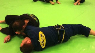 Kimura grip to counter the spinning armbar