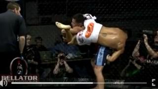 Standing Inverted Triangle Choke – Toby Imada (Bellator)