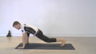 Mountain climber warm up – Yoga for BJJ