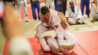 1-Handed Rener Gracie vs. Purple, Brown & Black Belt
