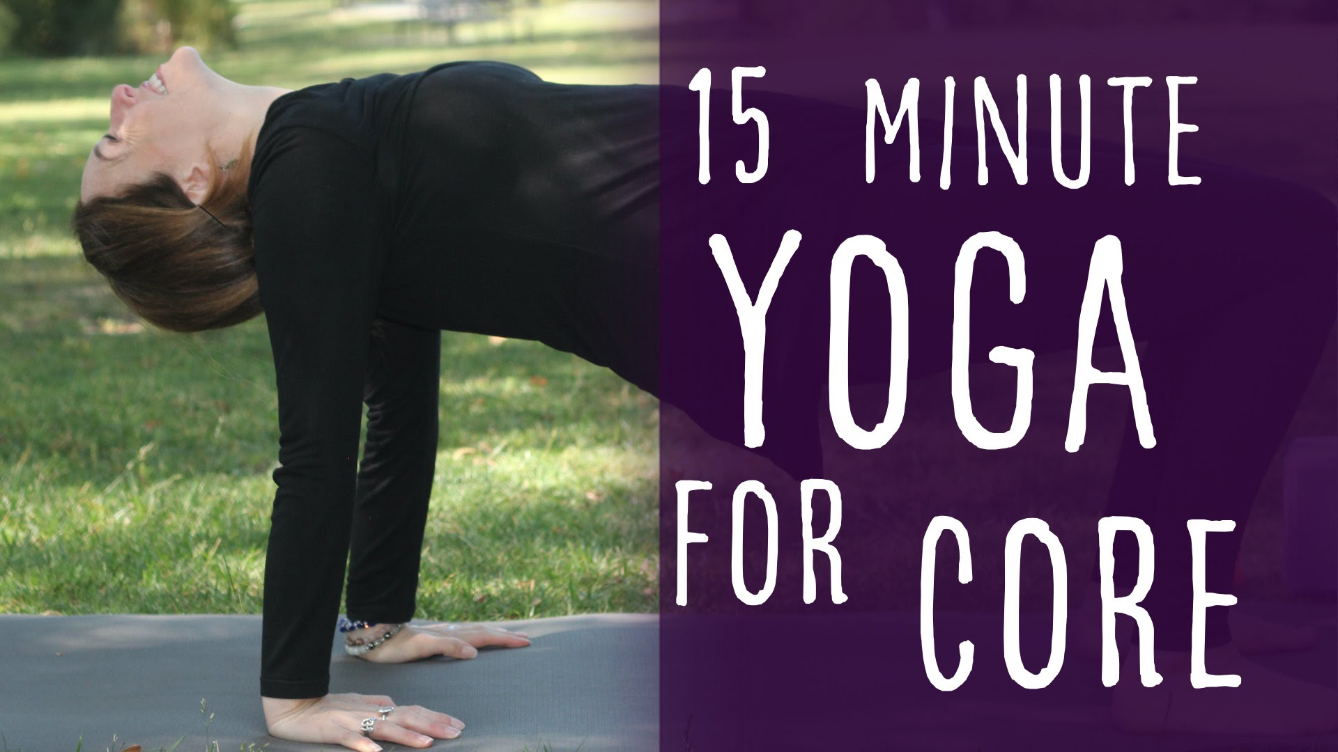 15 Minute Yoga Challenge for Abs and Core Strength