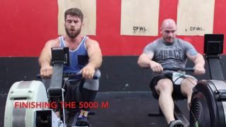 5k Row Workout For BJJ Cardio