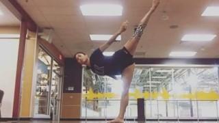 Balancing Ballet Routine – Kristina Barlaan