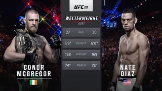 Conor McGregor vs Nate Diaz – UFC