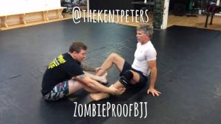 Idiot Sweep To Belly Down Straight Ankle Lock – Kent Peters