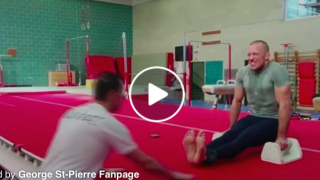 Georges St-Pierre Gymnastics Training