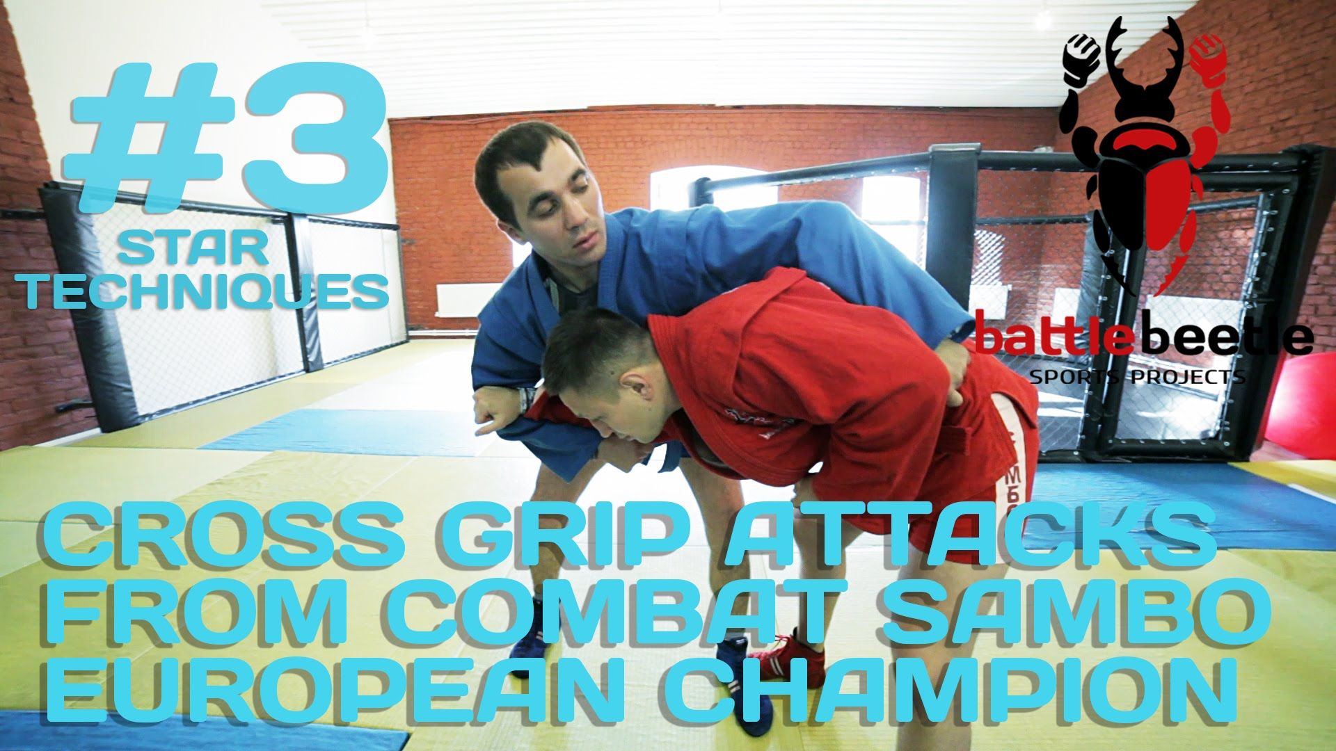 Cross Grip Attacks From Combat Sambo –  Andrey Kalinin
