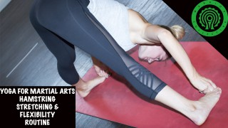 Hamstring Stretching for Flexibility Routine – Yoga for Martial Arts
