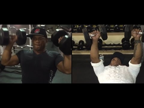 Hector Lombard Strength Training After Loss Hendo