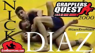 Nick Diaz Vintage Grappling Fights