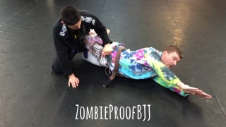 Sneaky Armbar From HalfGuard – Kent Peters