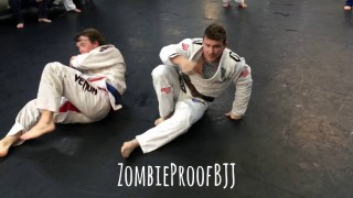 """The Drag & Pop"" Spider Guard Pass to Donkey Guard Kneebar – Kent Peters"